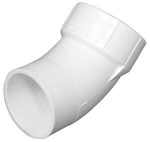 Charlotte Pipe  Schedule 40  PVC  Street Elbow