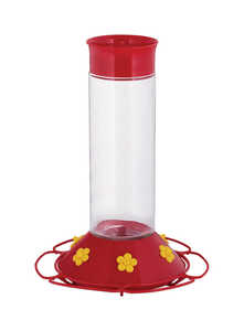 Perky-Pet  Hummingbird  30 oz. Nectar Feeder  6 ports Glass