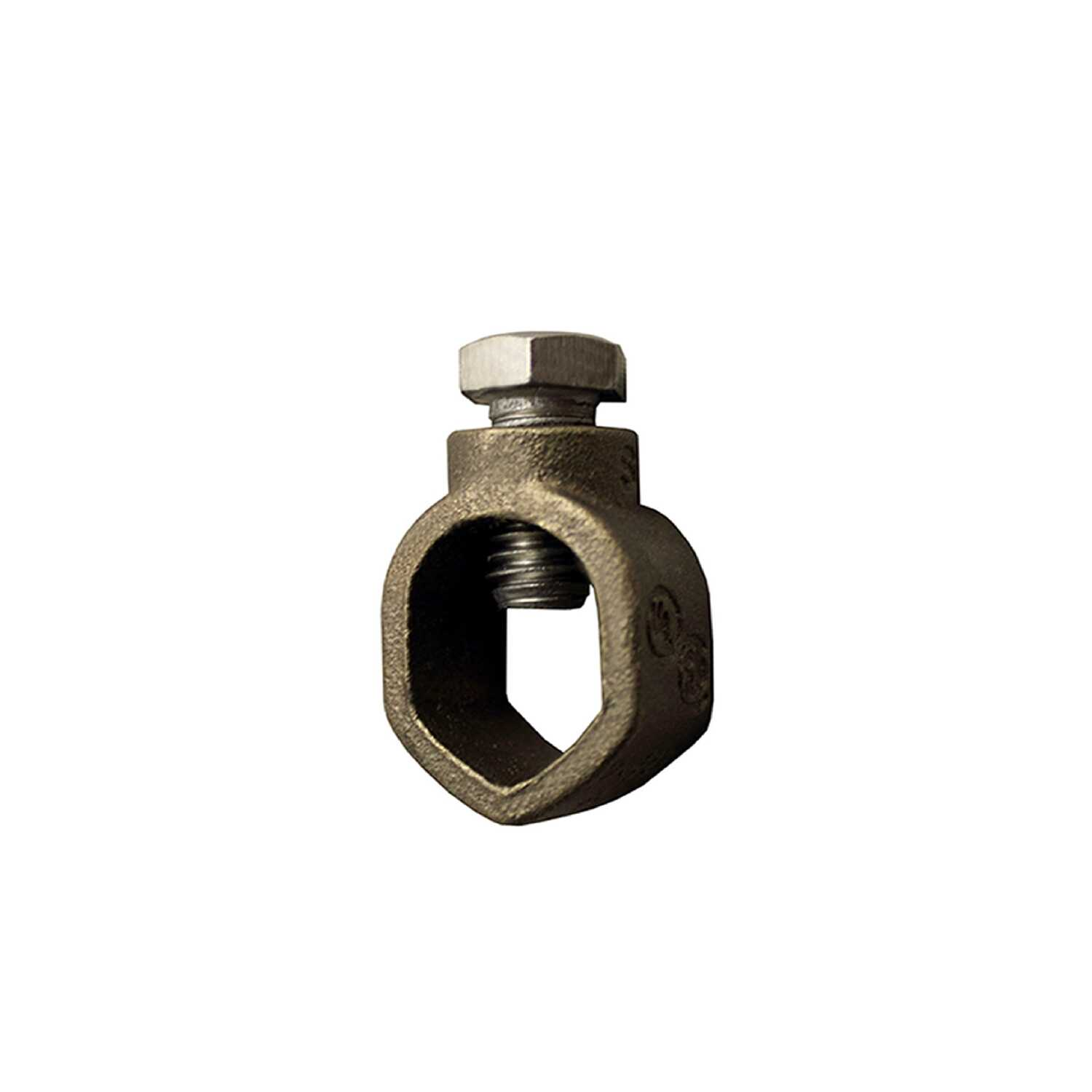 Sigma Electric ProConnex  1/2 in. Bronze  Ground Rod Clamp  1 pk