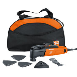 Fein  MultiTalent  2.1 amps 110 volt Corded  Oscillating Multi-Tool  Kit 20000 opm Orange  1 pc.