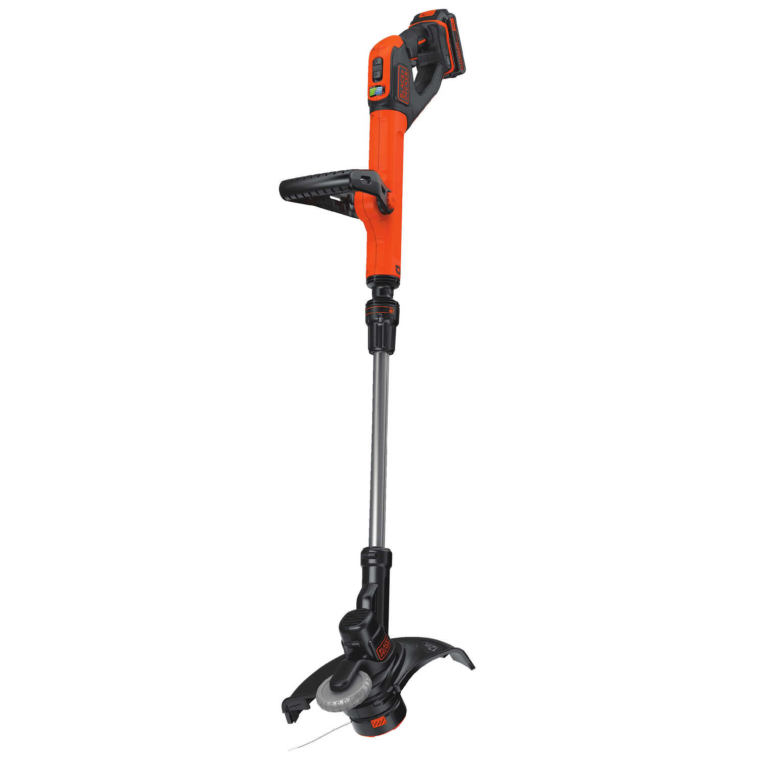 Black and Decker  20V MAX  Straight Shaft  Battery  String Trimmer