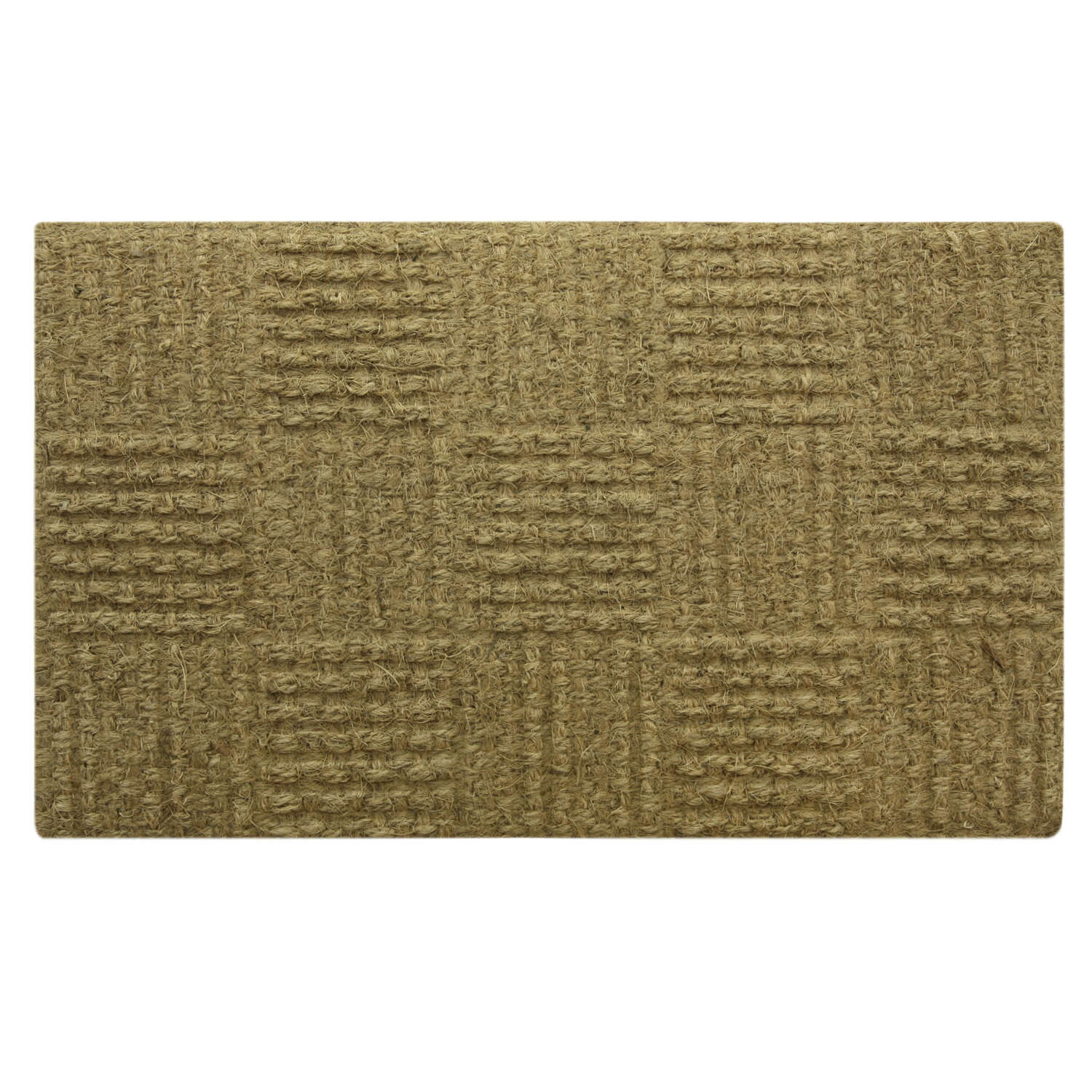 Sports Licensing Solutions  Woven  Brown  Coir  Coco Mat  30  L x 18  W