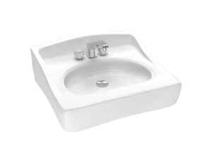 Cato  Terra  Rectangular  18.5 in. Lavatory Sink  White