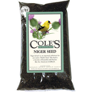 Cole's  Finch  Wild Bird Food  Niger Seed  10 lb.