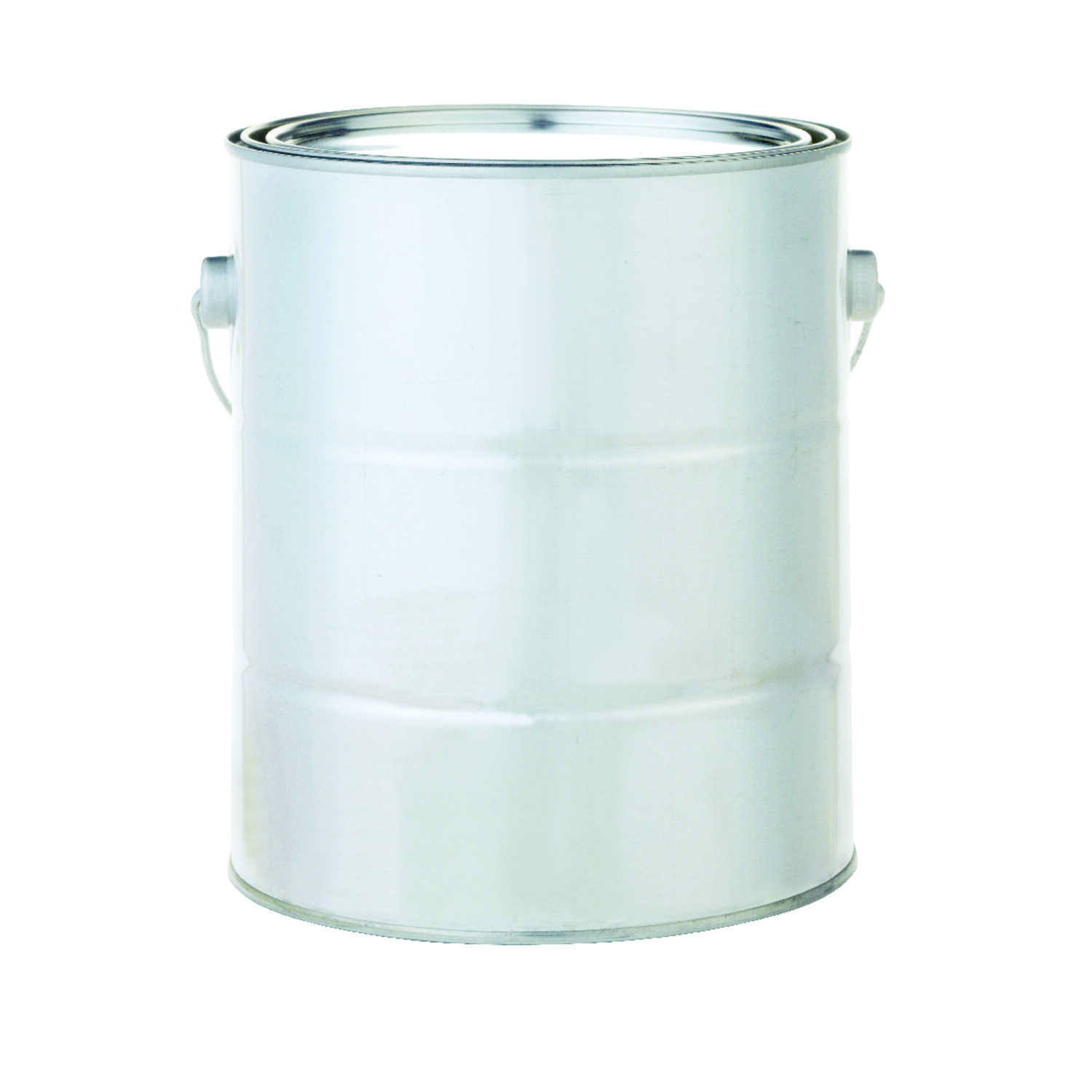 Silver  1 gal. Metal  Empty Paint Can