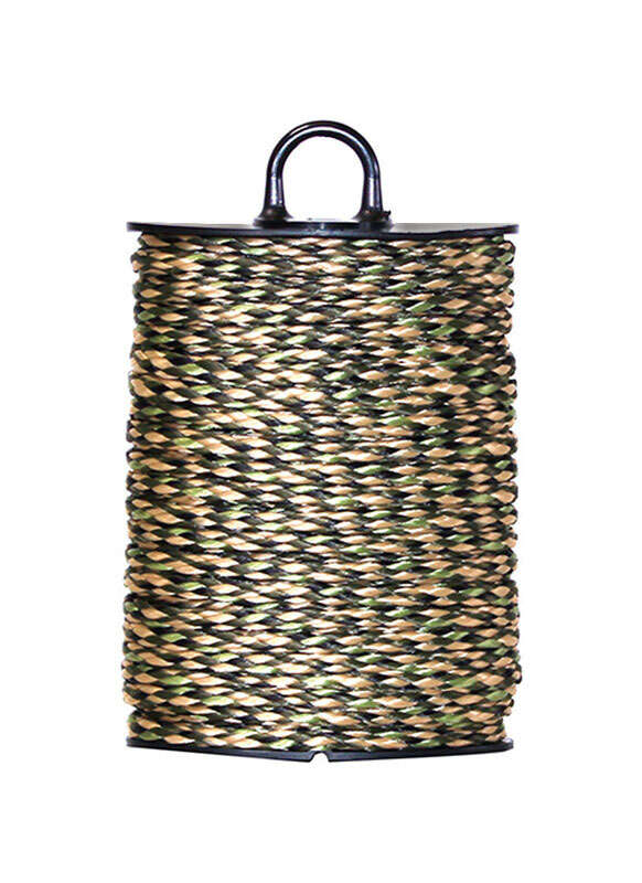 SecureLine  50 ft. L x 5/32 in. Dia. Camouflage  Braided  Poly  Rope