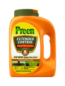 Preen  Extended Control  Landscape Weed Preventer  Granules  4.93 lb.