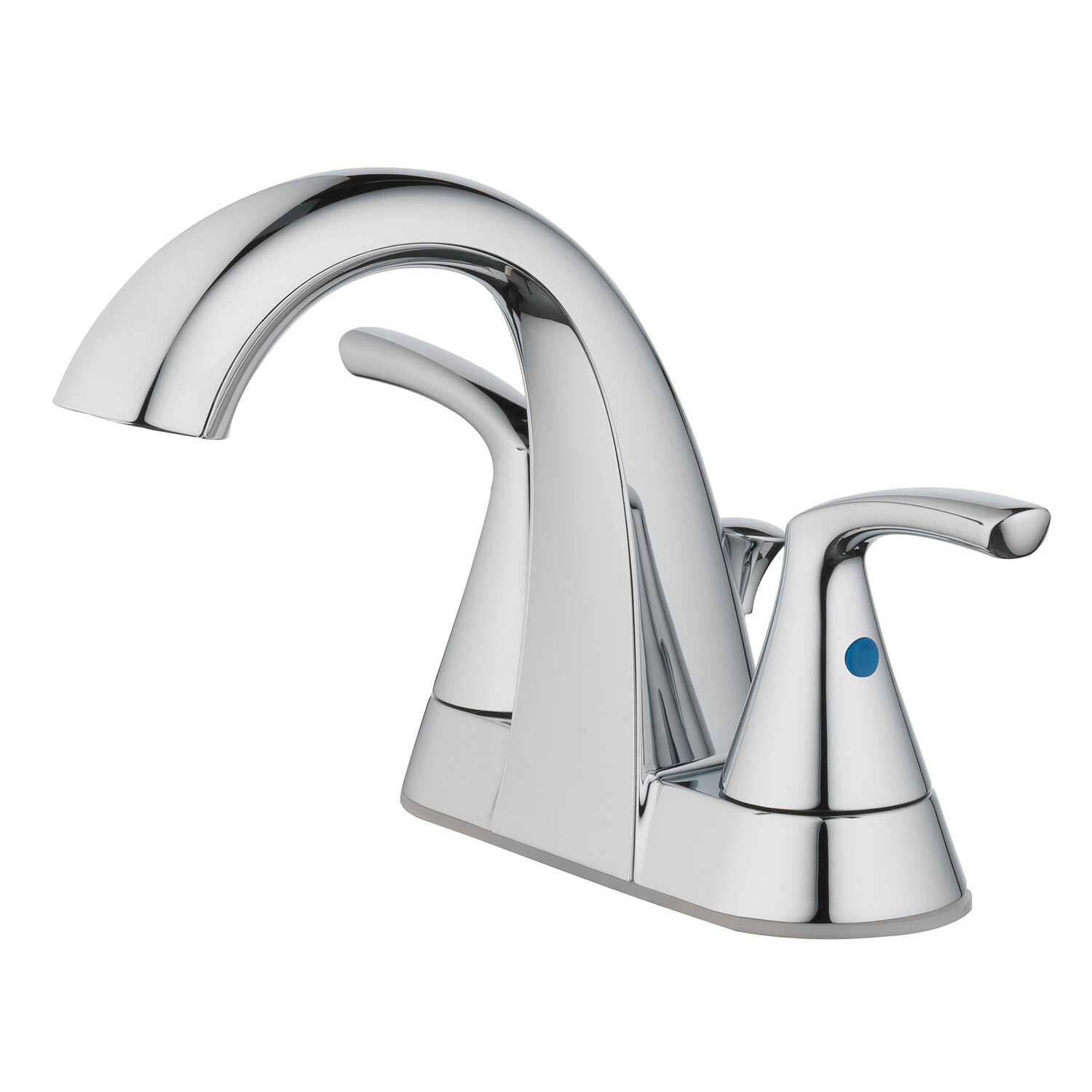 OakBrook  Pacifica  Two Handle  Lavatory Pop-Up Faucet  4 in. Chrome