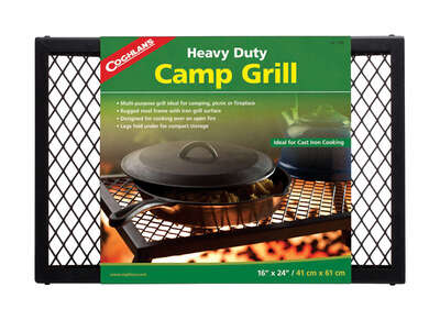 Coghlan's  Black  Camp Grill  16 in. W x 24 in. L 1 pk