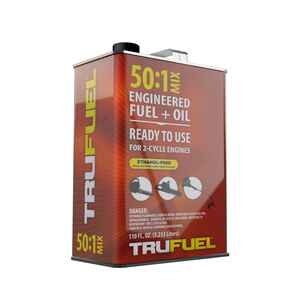 TruFuel  50:1  2 Cycle Engine  Premium Synthetic  Premixed Gas and Oil  110 oz.