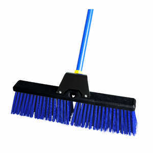 Ace  Rough Surface Push Broom  60 in. Synthetic