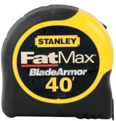 Stanley  FatMax  40 ft. L x 1.25 in. W Tape Measure  Black/Yellow  1 pk