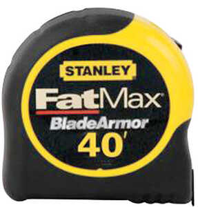 Stanley FatMax  1.25 in. W x 40 ft. L Tape Measure  Yellow  1 pk