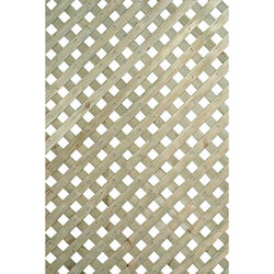 Suntrellis  Privacy  8 ft. W x 4 ft. L Lattice Panel