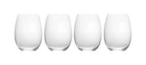 Mikasa  19-3/4 oz. Clear  Crystal  Stemless Wine Glass