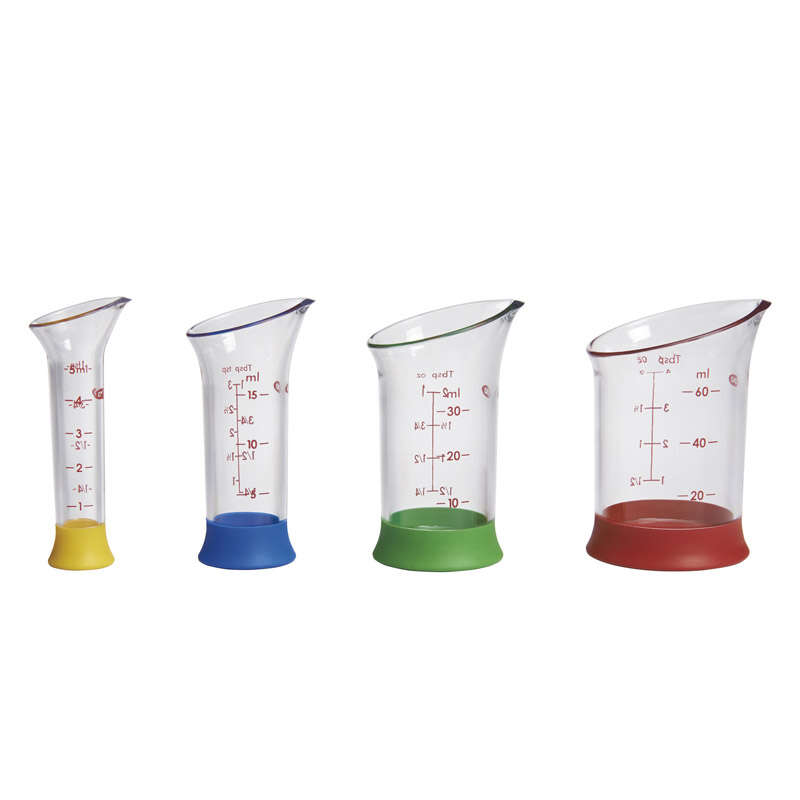 OXO Good Grips Plastic Assorted Measuring Beakers