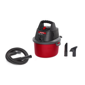 Craftsman  2.5 gal. Corded  Wet/Dry Vacuum  3 amps 120 volt 1.75 hp Red  7.9 lb.