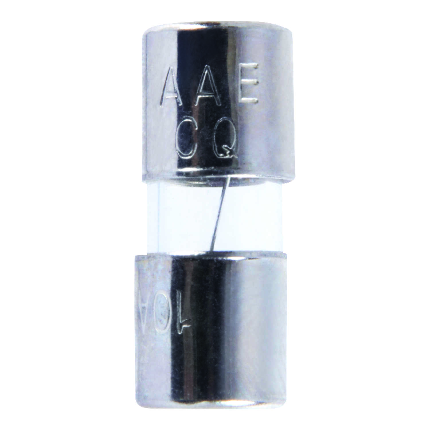 Jandorf  AGA  10 amps 125 volt Glass  Fast Acting Fuse  4 pk