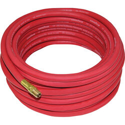 GRIP  Goodyear  25 ft. L x 1/4 in. Dia. EPDM Rubber  Air Hose  250 psi Red