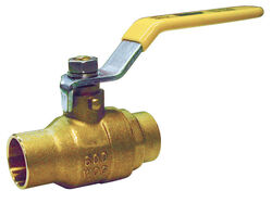 BK Products  ProLine  1/2 in. Brass  Solder  Ball Valve  Full Port