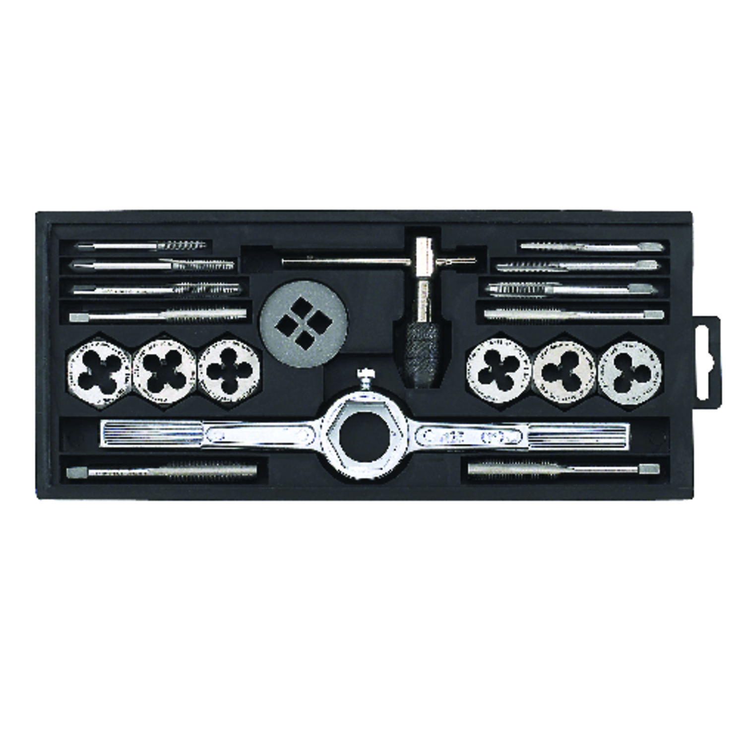 Craftsman  Steel  SAE  Tap Set  19 pc.