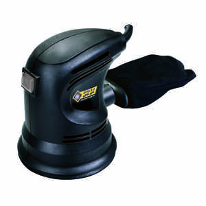 Steel Grip  Corded  Random Orbit Sander  2.2 amps 12000 opm Black