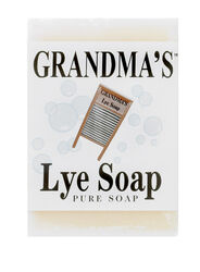 Grandma's Pure & Natural No Scent Bar Soap 6 ounce