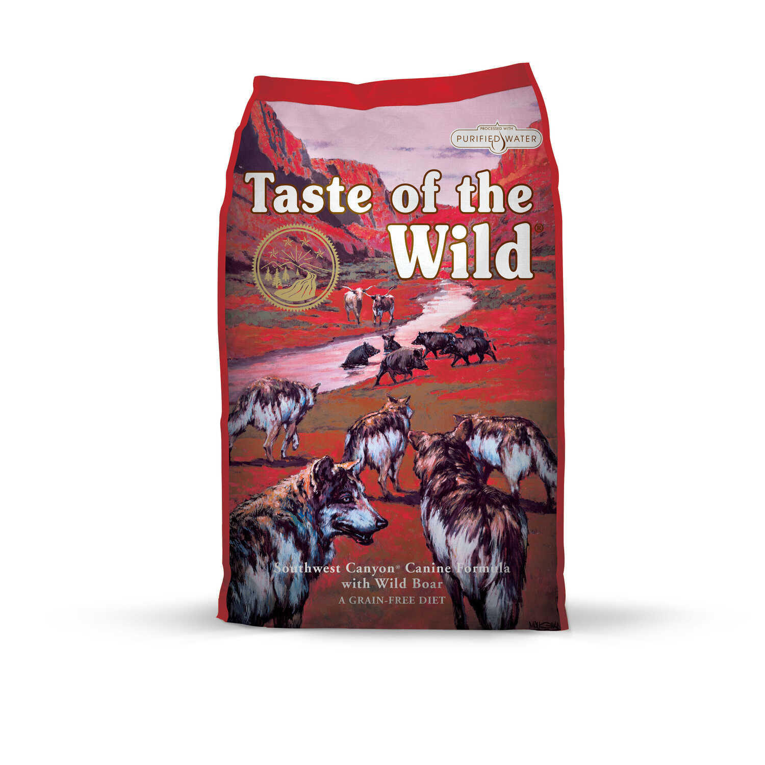 Taste of the Wild  Southwest Canyon  Wild Boar  Dog  Food  Grain Free 28 lb.