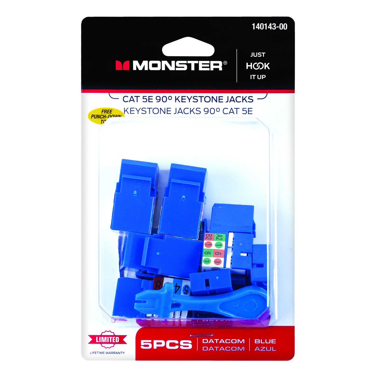 Monster Cable  5 pk A/V Adapter