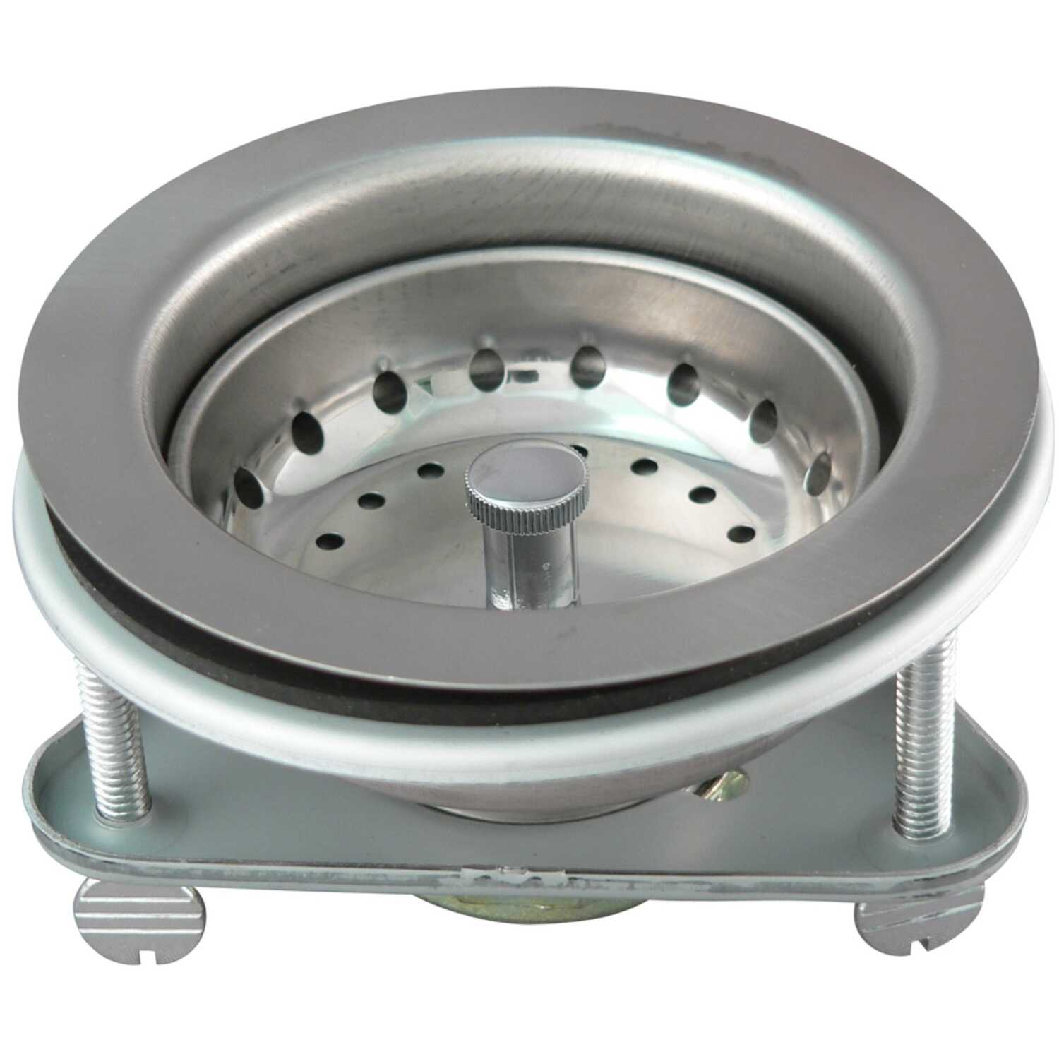 Keeney  3-1/2 in. Dia. Stainless Steel  Basket Strainer Assembly