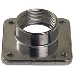 Square D  Bolt-On  1.5 in. Rainproof Hub  For A Openings