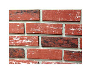 Z-Brick  8 in. H x 2.25 in. W 3-1/2  Used  Face Brick  Red