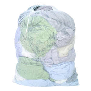 Homz  Multicolored  Laundry Bag  Mesh