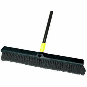 Ace  Smooth Surface Push Broom  24 in. W x 60 in. L Synthetic