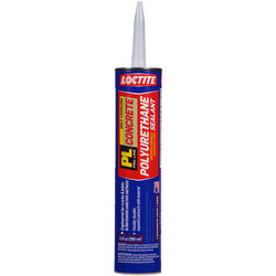 Loctite  PL Concrete  Limestone Gray  Polyurethane  Filler and Sealant  10 oz.