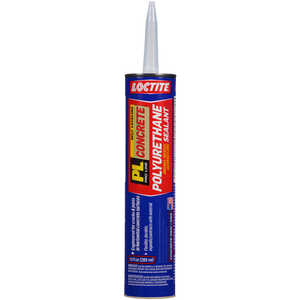 Loctite  PL  Limestone Gray  Polyurethane  Filler and Sealant  10 oz.
