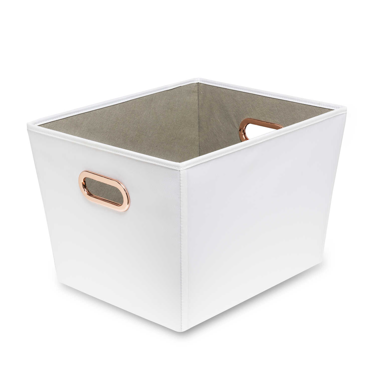 Honey Can Do  11 in. H x 13 in. W x 16 in. D Tote Bin