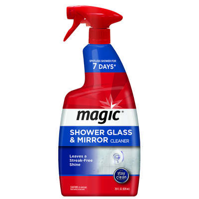 Magic  Citrus Scent Glass Cleaner  28 oz. Spray