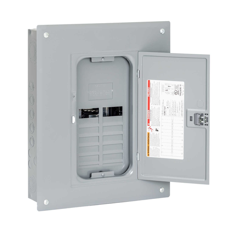 Square D HomeLine 125 amps 120/240 volt 12 space 24 circuits ...