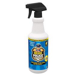 Grease Police Clean Scent Concentrated Cleaner and Degreaser Liquid 32 oz.