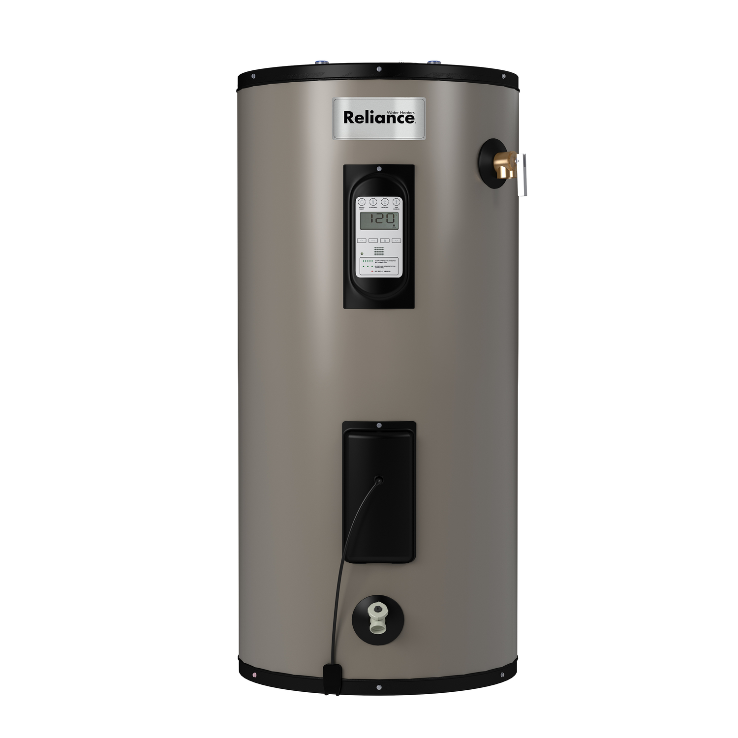 Reliance  Electric  Water Heater  50 in. H x 20-1/2 in. L x 20-1/2 in. W 40 gal.