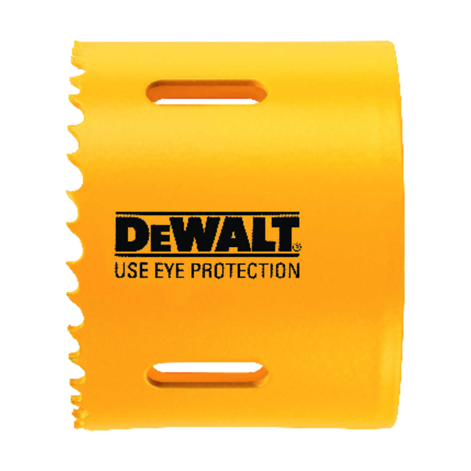 DeWalt  3 in. Dia. x 1.75 in. L Bi-Metal  Hole Saw  1/4 in. 1 pc.