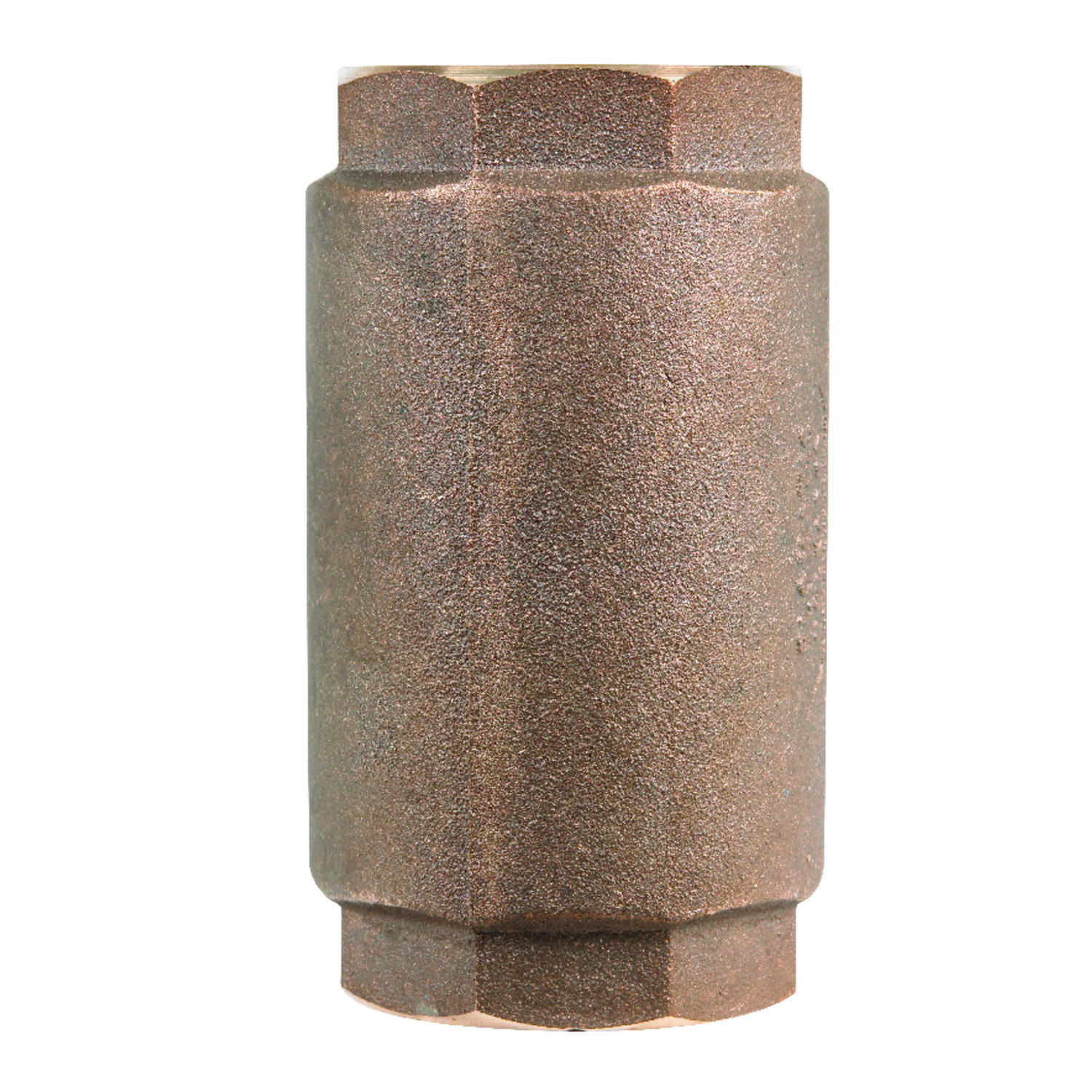 Campbell  2 in. 2 in. FNPT  Red Brass  Spring  Check Valve