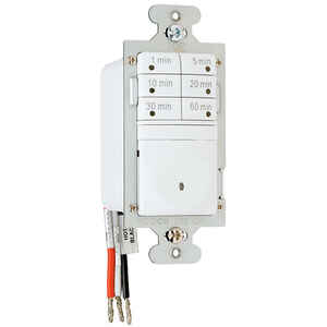 Pass & Seymour  Indoor  7 Button Timer Switch  120 volt White