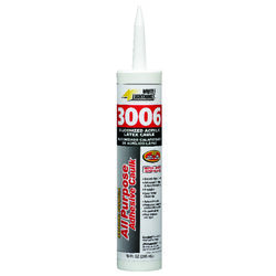 White Lightning 3006 White Siliconized Acrylic Caulk Sealant 10 oz.