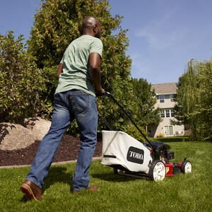Toro 22 in  W 149 cc Self-Propelled Mulching Capability Lawn Mower