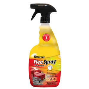 Enforcer  Liquid  Cat and Dog  Flea Spray  Permethrin  32 oz.