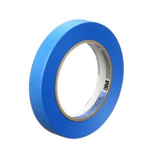3M  Scotch Blue  0.7 in. W x 60 yd. L Blue  Medium Strength  Painter's Tape