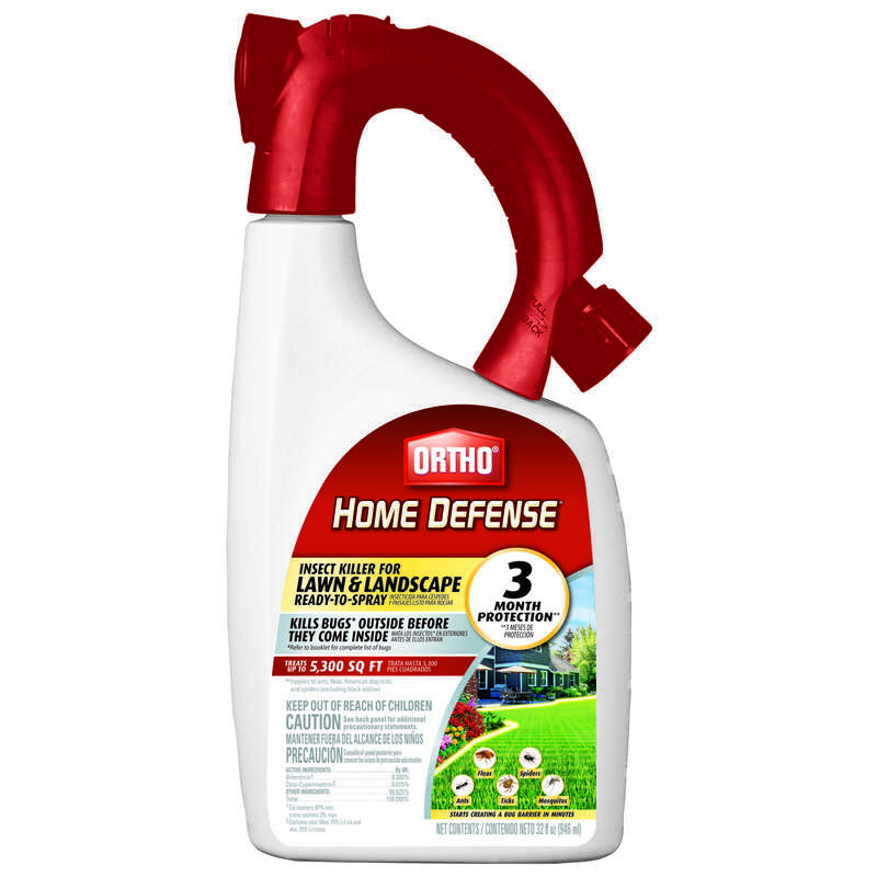 Ortho  Home Defense  Liquid  Insect Killer  32 oz.