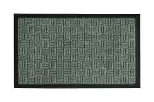 Bacova Guild  Floor Saver II  Gray  Coir  Nonslip Floor Mat  36 in. L x 24 in. W